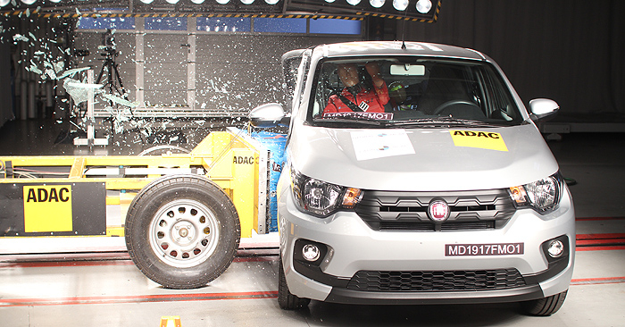 Fiat Mobi Crash Test