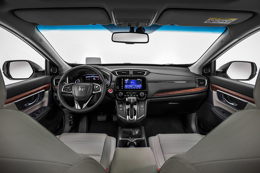 HONDA-CR-V-2019-interior