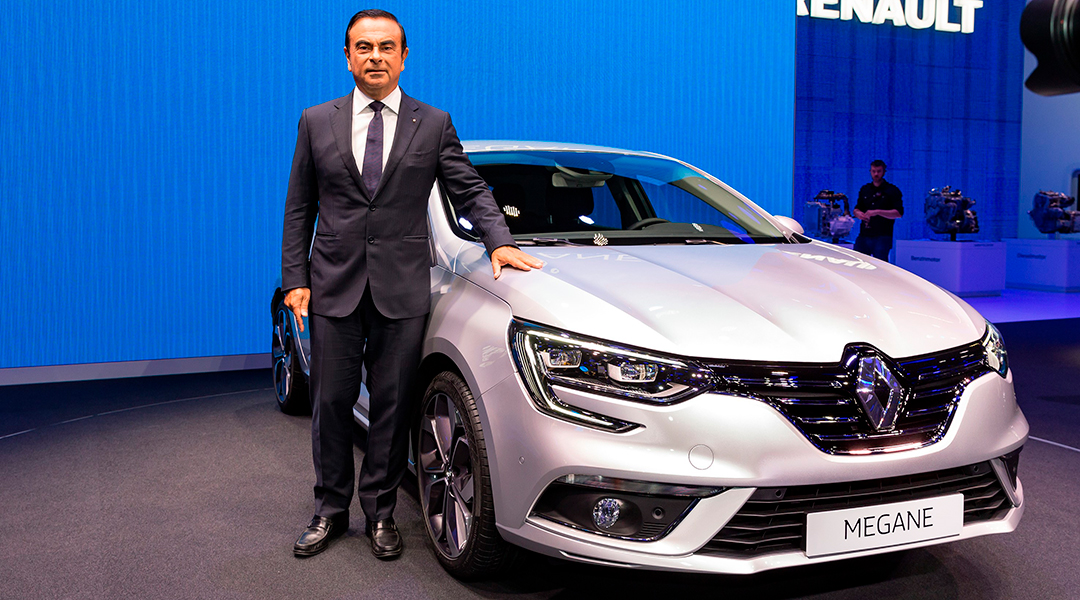 Carlos Ghosn é CEO da Aliança Global Renault-Nissan e Mitsubishi