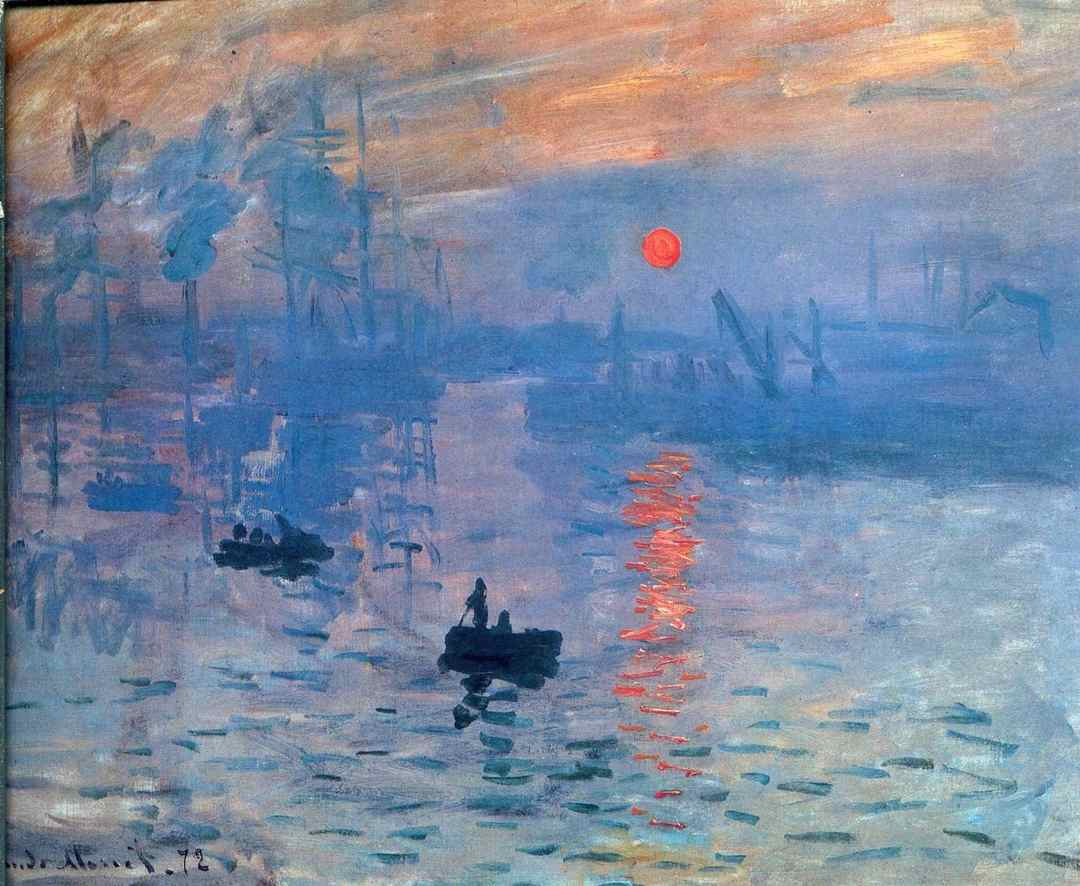 Sol Nascente, Claude Monet, 1872
