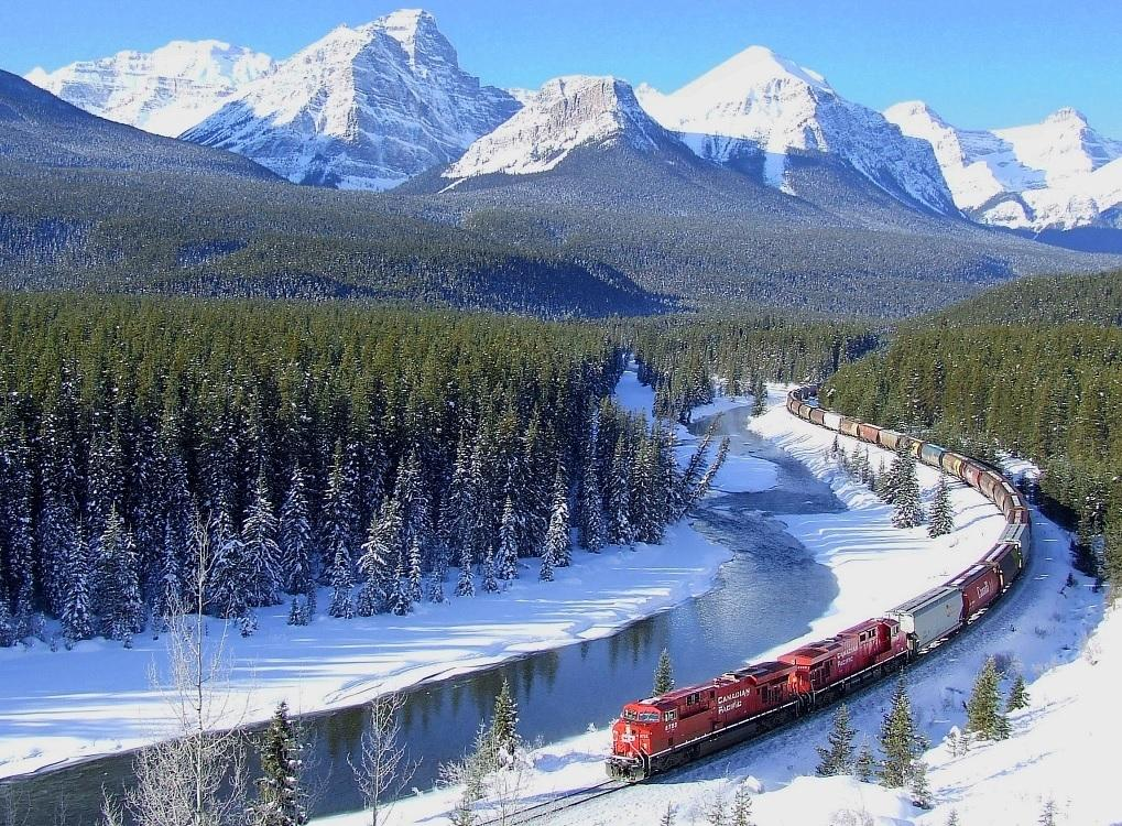 Canadian Pacific Railway, Canadá
