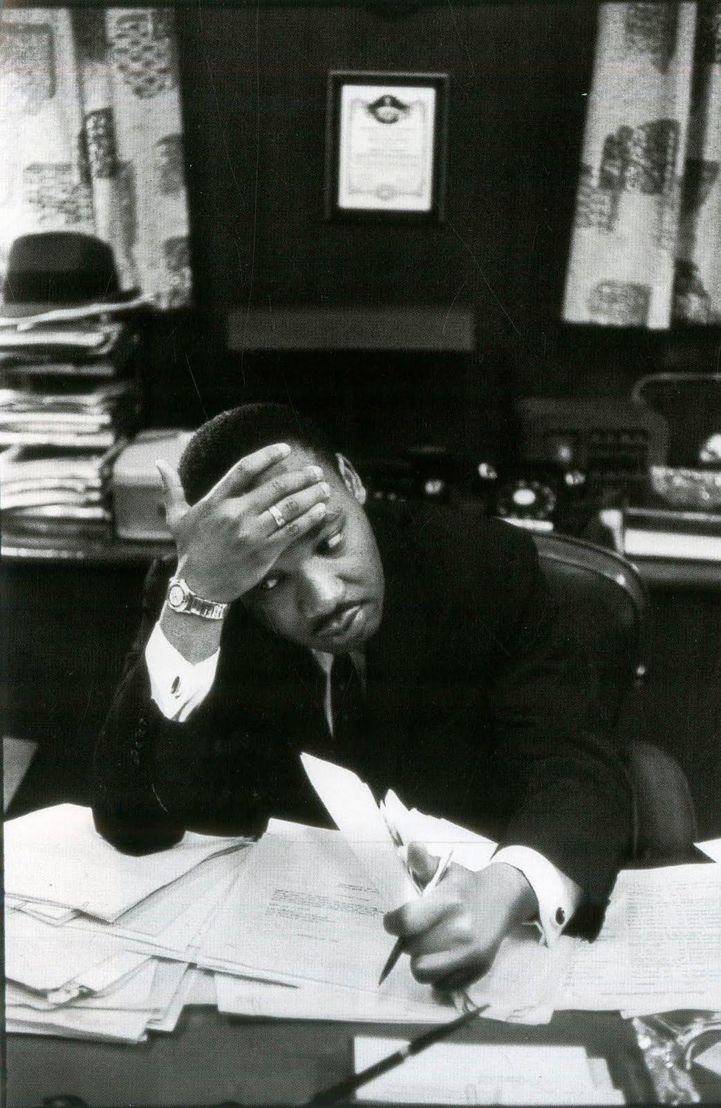 Martin Luther King, 1961