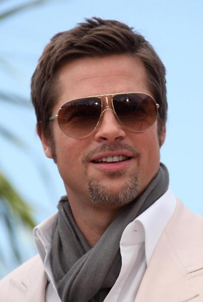 Brad Pitt Tv Interview With Glasses